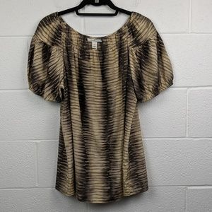 Kenneth Cole New York Silk Cotton Blouse